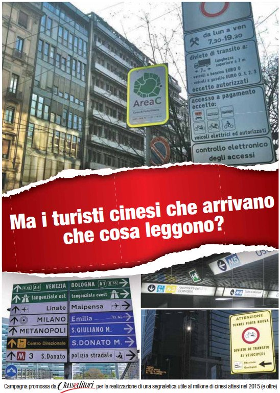 Cartelloni per cinesi
