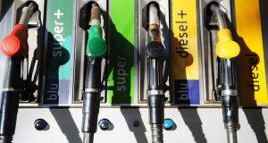 Costi di carburanti alle pompe