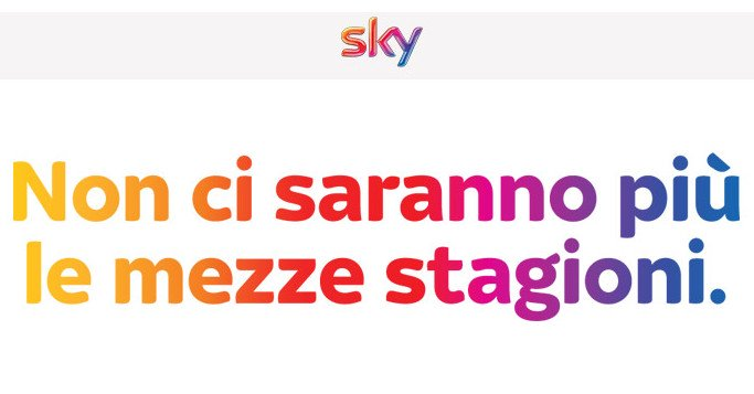 Sky Box Sets per le Serie TV complete